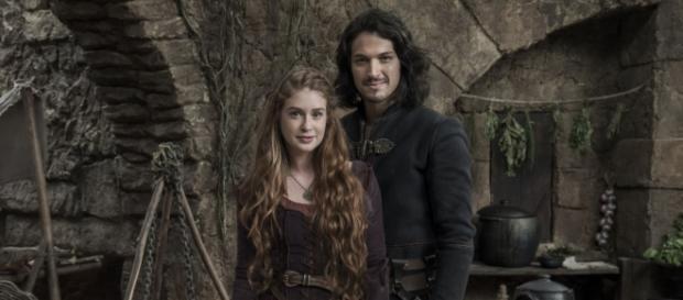 Afonso e Amália se casam em ''Deus Salve o Rei''