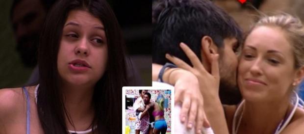 Ana Paula está revoltada por seu príncipe estar mais próximo de Jéssica em reality.