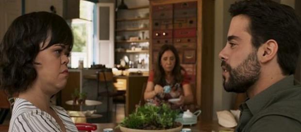 Estela descobre que Amaro nunca a amou em ''O Outro Lado do Paraíso'' (TV Globo)