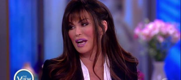 Marie Osmond's changing appearance. [Image Credit; YouTube/The View Channel]