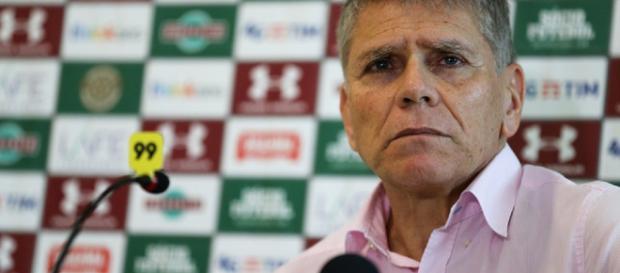 Paulo Autuori, gerente-executivo de futebol do Fluminense (Foto: Globo.com)