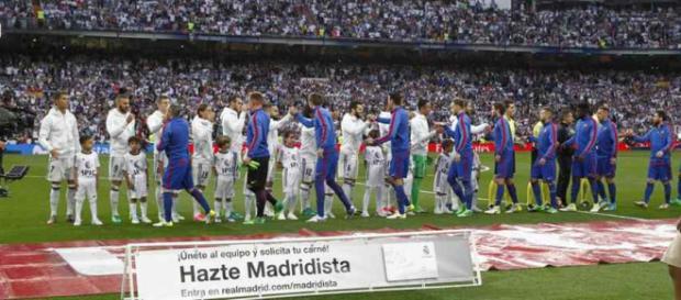 Real Madrid e Barcelona são grandes rivais na Espanha