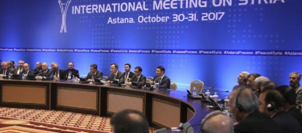 Reunião internacional do Congresso Nacional de Diálogo Sírio