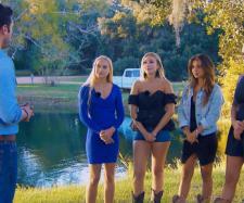 Der Bachelor und Svenja, Jessica, Kristina, Carina und Janine Christin (v.l.) - Foto: MG RTL D