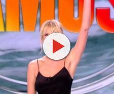 Alessia Marcuzzi e i filmati di Striscia la notizia