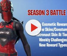 """Fortnite Battle Royale"" season 3 will bring over 70 new cosmetic items. Image Credit: Own work"