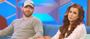 Adam Lind and Chelsea Houska [Image via MTV/YouTube screencap]