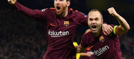 Tras un error del Chelsea, Lionel Messi aprovecha parta decretar el empate