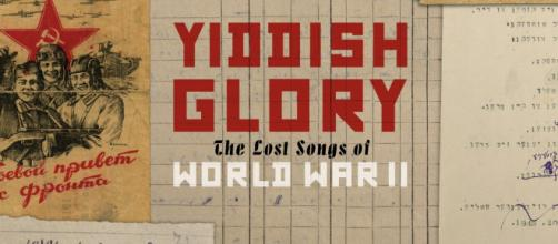 An ensemble of artists release a new album: 'Yiddish Glory: The Lost Songs of World War II' / Image: Permission Six Degree Records