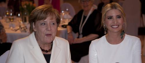 Angela Merkel and Ivanka Trump in Berlin, April 2017. - [Image credit – usbotschaftberlin, Wikimedia Commons]