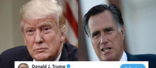 Donald Trump, Mitt Romney, via Twitter