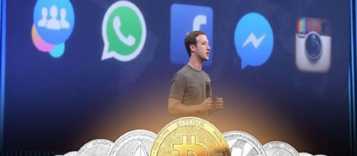 Facebook parece no apreciar las criptomonedas.