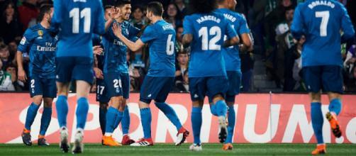 Festival de goles entre el Betis y el Real Madrid - Nación Deportes - naciondeportes.com