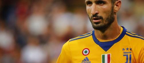 Giorgio Chiellini, niente prova tv dopo Torino-Juventus