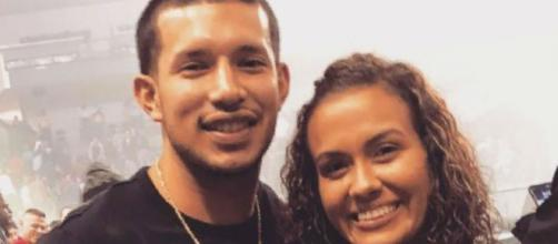 Javi Marroquin and Briana DeJesus attend a concert. [Photo via Instagram]