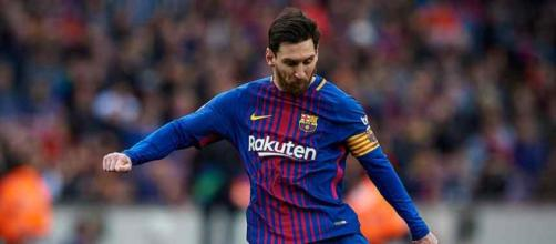 Leo Messi marcou o gol do empate