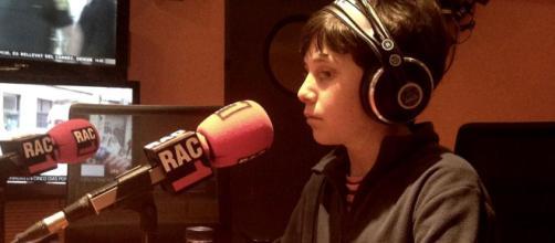 Pere Ribas durante una entrevista radiofónica