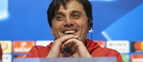 Vincenzo Montella bromeó que la mejor esperanza del Sevilla de anular a Alexis Sánchez