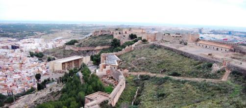 Vista desde lo alto de la fortaleza de Sagunto. Fuente: labelluga.com