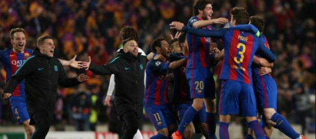 Barca mach gegen PSG das Unmögliche möglich (Quelle: thesun.co.uk)