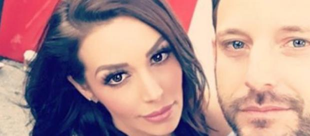 Scheana Marie takes a selfie with Robert Parks-Valletta. - [Photo via Instagram]