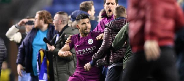 Sergio Agüero estuvo involucrado en un altercado con un fan