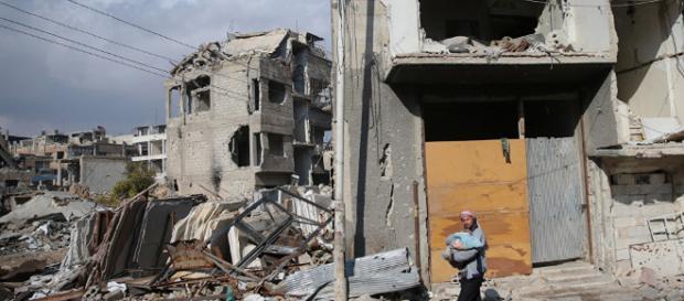 Tod und Zerstörung in Syrien. Der Bürgerkrieg findet kein Ende.