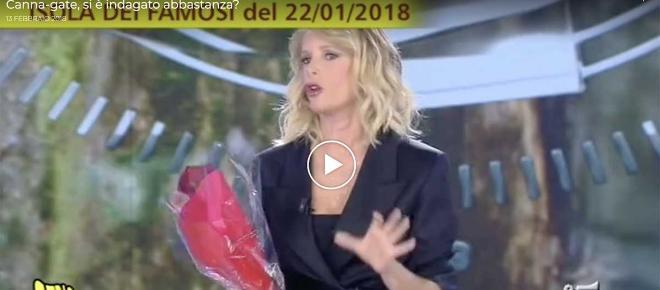 L'Isola dei famosi,ecco la prova audio sulla bufera droga: Alessia Marcuzzi choc