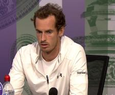 Andy Murray during a press conference at 2017 Wimbledon/ Photo: screenshot via Wimbledon channel on YouTube