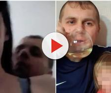 Casal faz vídeo indecente na frente da filha