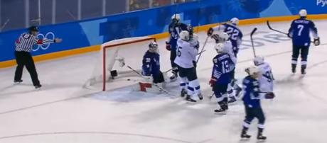 The Olympic hockey tournament has been disappointing at best [Image via NBC Sports / YouTube Screencap]
