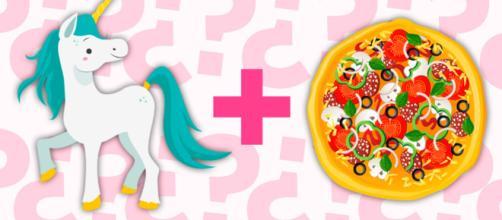 Crean la pizza de unicornio y es un auténtico disparate