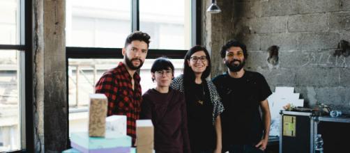 Il team Hoppipolla, che segue il progetto spin-off della community Co hive
