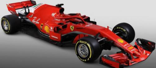 La nuova Ferrari SF70H con l'Halo