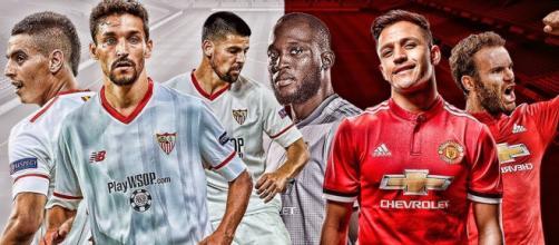 Manchester United se enfrenta al Sevilla