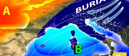 Meteo, dal 25 febbraio arriva il Burian, gelo e neve in Italia ... - ilmeteo.it