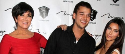 Rob Kardashian conta com o apoio da família
