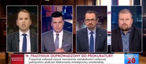 Adam Andruszkiewicz gościem programu Minęła Dwudziesta.