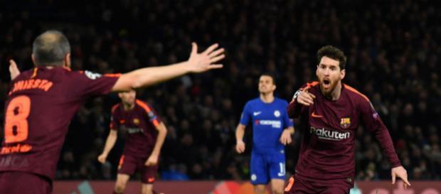 El equipo catalan se llevo la ventaja con el gol de visitante
