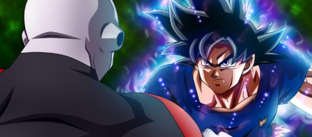 Goku vs Jiren no Torneio do Poder