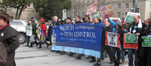 Gun control march - Slowking4 via Wikimedia Commons