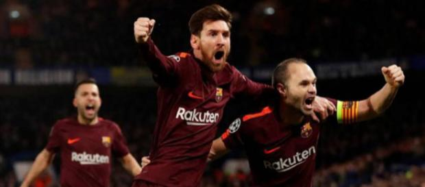 Iniesta y Messi salvan al FC Barcelona en Stamford Bridge