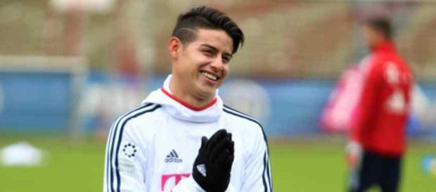 James Rodríguez está brilhando no Bayern