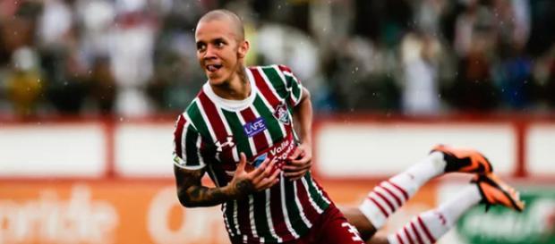 Marcos Júnior fez dois gols na partida