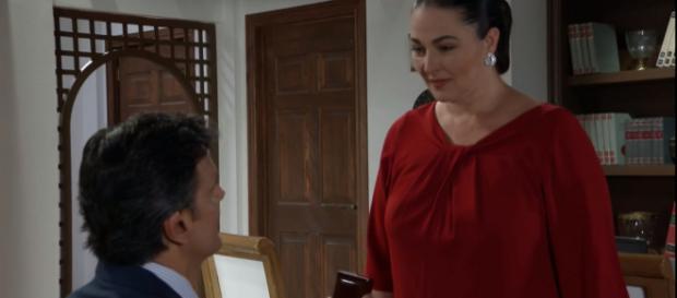 Marisa se emociona com pedido de Inácio