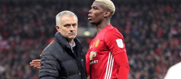 Pogba está teniendo problemas con Mourinho