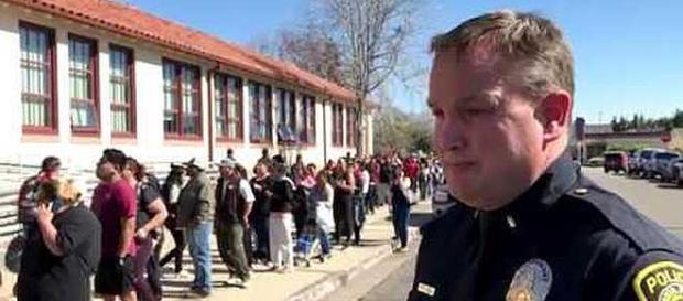 Students are threatening school shootings around the country [Image: SantaMariaTimes/YouTube screenshots]