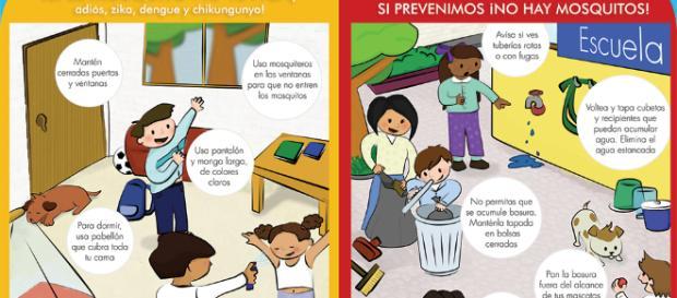 Tips para la prevención del dengue. - gob.mx
