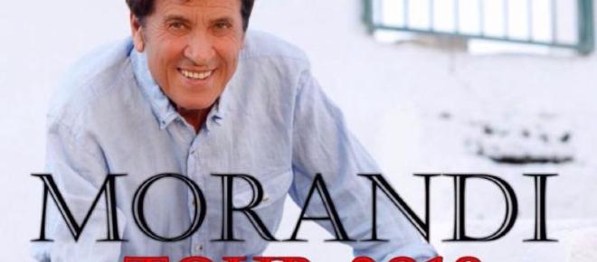 Il 22 febbraio inizia il tour di Gianni Morandi: le date principali