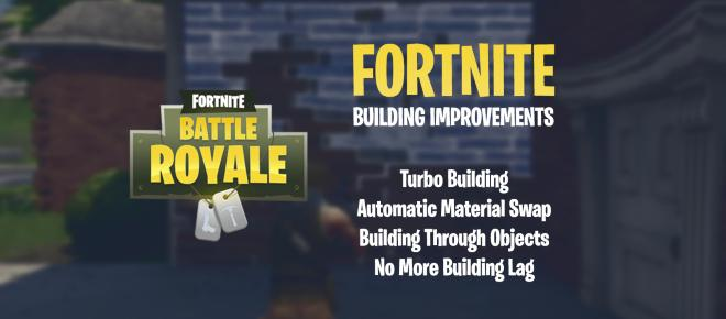 'Fortnite Battle Royale': Big building improvements coming in next patch
